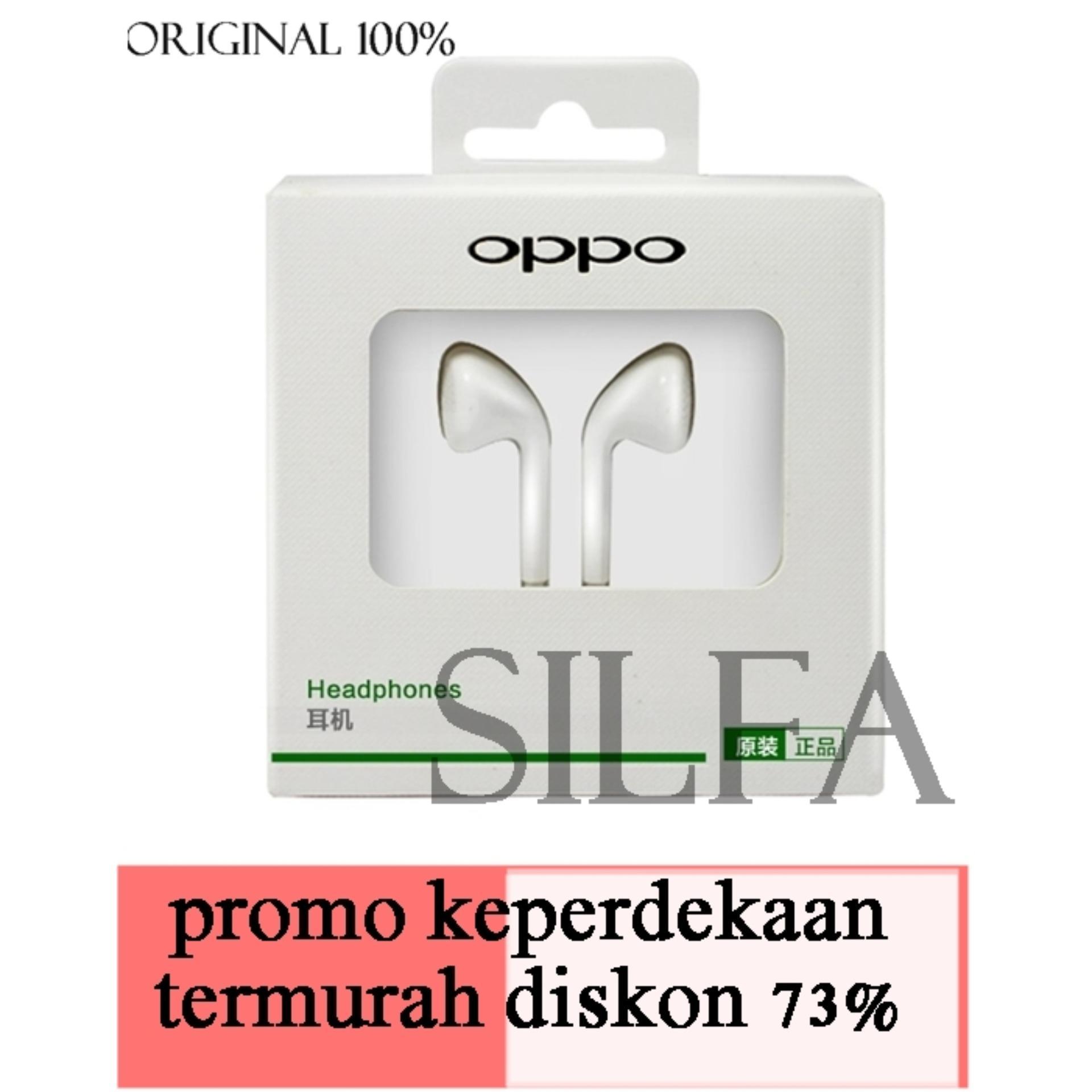 Oppo Handsfree SIFA Super Bass Original - Putih/White