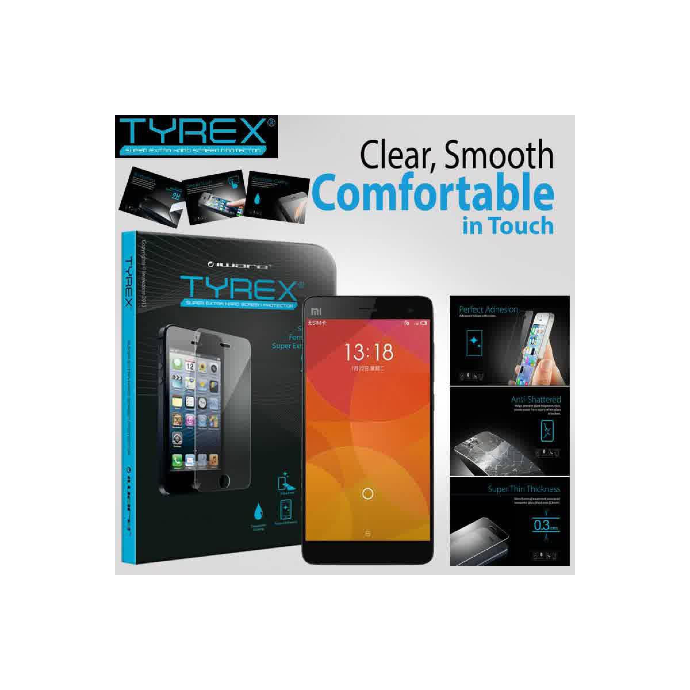 Tyrex Tempered Glass Xiaomi Mi4IDR Rp 336 000