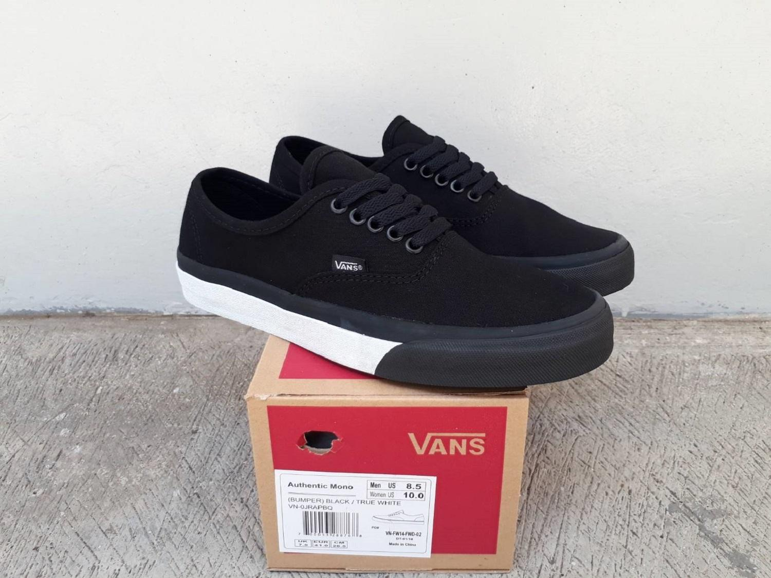 vns authentic mono bumper black wafle dt