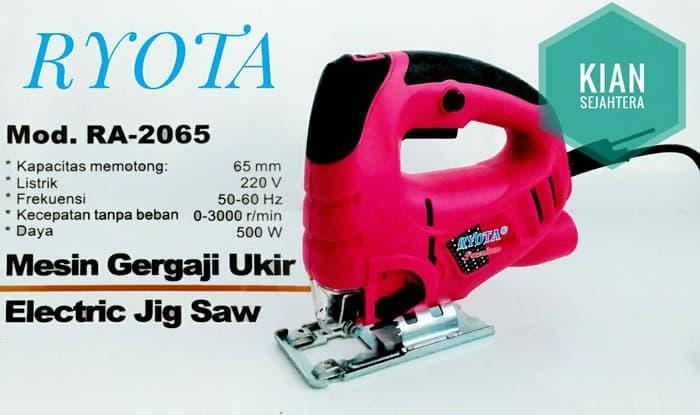 Produk Laris mesin jigsaw RYOTA RA-2065/ Mesin gergaji triplek/ jig saw