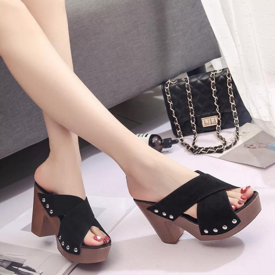 Ginshashop - Sepatu Wanita High Heels GHS-DR HITAM Heels Hak Tinggi   Sepatu  Hak 3fcdfd4992