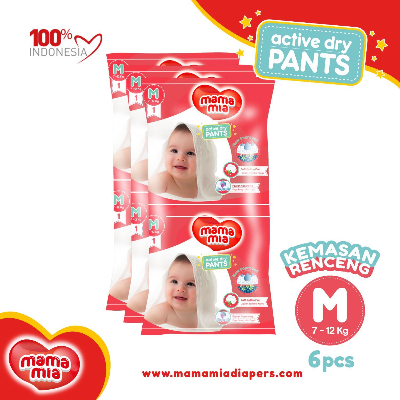 Mamamia Popok Bayi Renceng M6 By Mamamia Indonesia.