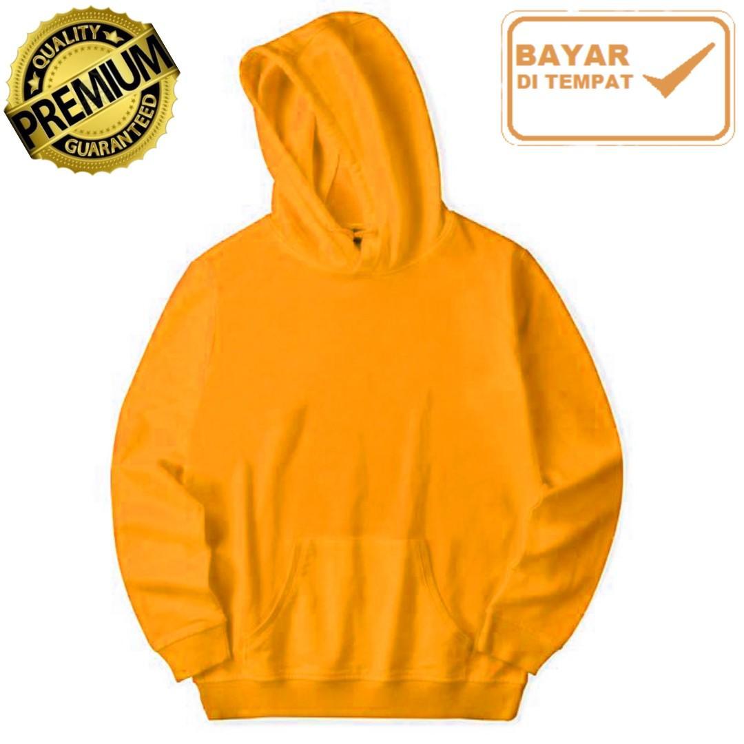 Jaket Polos Premium Jumper (Tanpa Resleting) Hoodie - Pria Wanita 544329bb1f