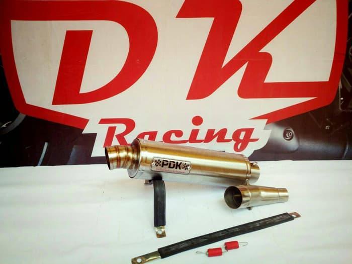 Knalpot Racing Kawasaki Versys 250 Slip On Pdk Titan By Dk Racing Bekasi.