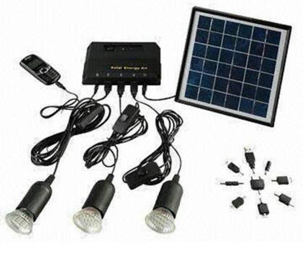 PAKET PANEL SURYA SOLAR CELL 3 LAMPU SIAP PAKAI
