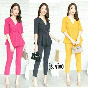 Price Checker dandelia / JS VIVO (nz) / jumpsuit wanita / fashion wanita /
