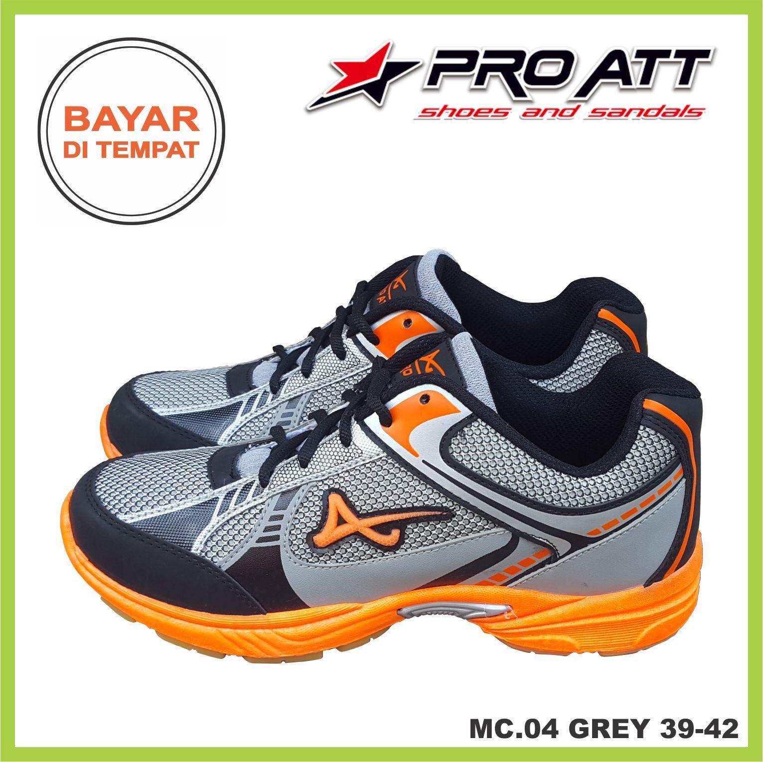 RAJASEPATU - PRO ATT Sepatu Pria / Sepatu Sneaker Original MC04 / TroyaStore Collection / Sepatu Sport Lari Murah Berqualitas