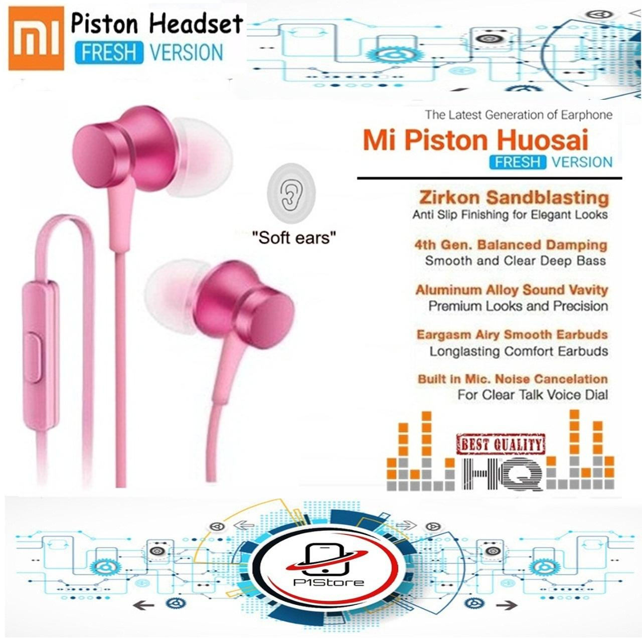 Xiaomi Mi Piston 3 Earphone Fresh Version Headset Versi Terbaru Huosai