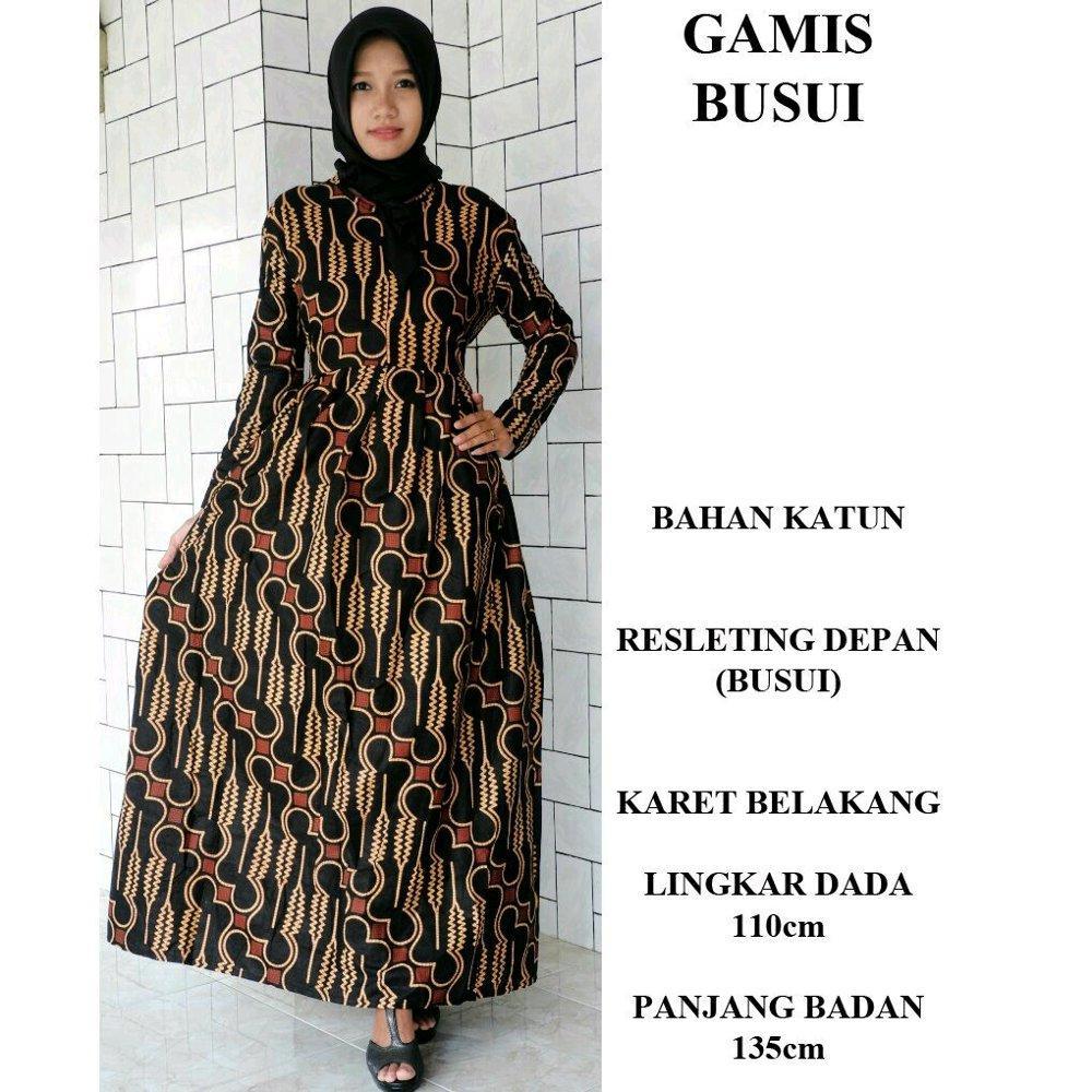 Gamis busui - gamis - gamis batik - gamis batik - dress - dress batik - batik busui - seragam batik di lapak Batik Gaul Pekalongan nur_janah2611