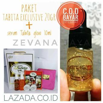 Pencarian Termurah Tabita Cream exclusive 20gr + serum Tabita glow 10ml sale - Hanya Rp246.295