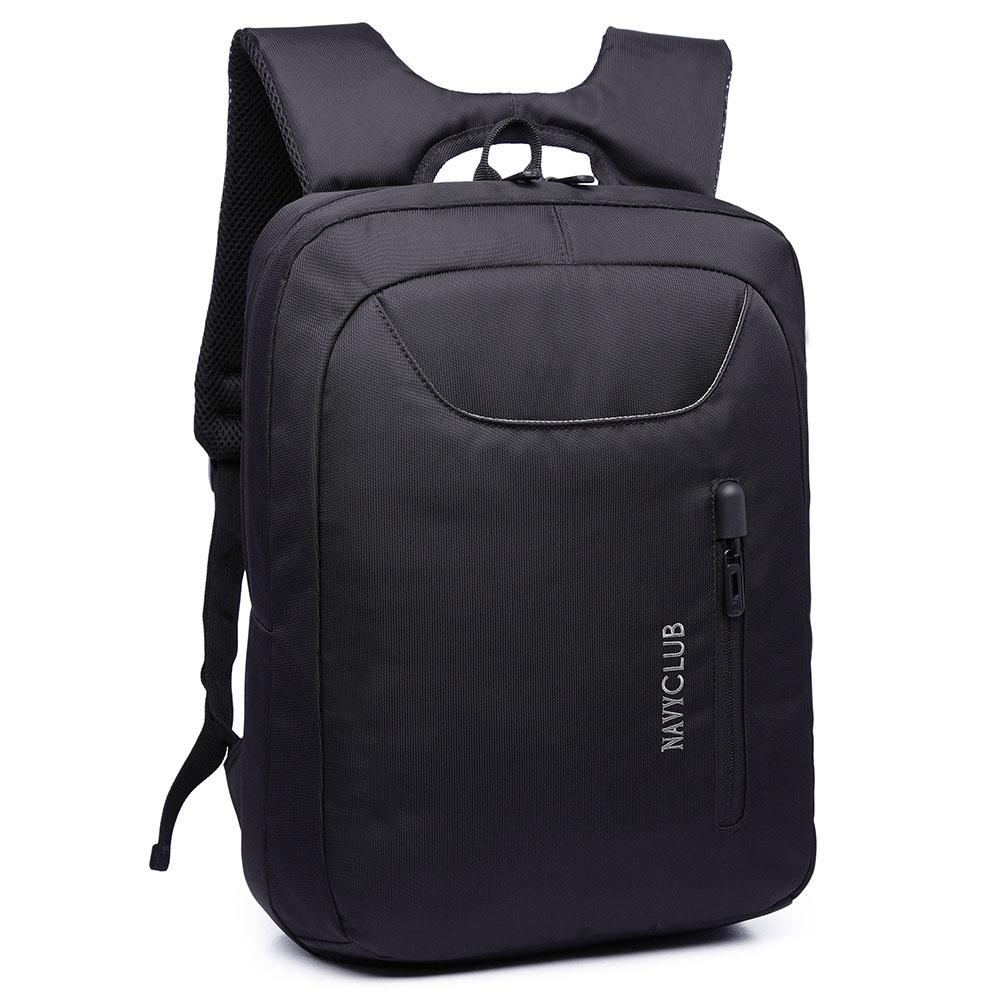 Navy Club Tas Ransel Laptop Tahan Air 5883 Backpack Up to 15 inch - Hitam
