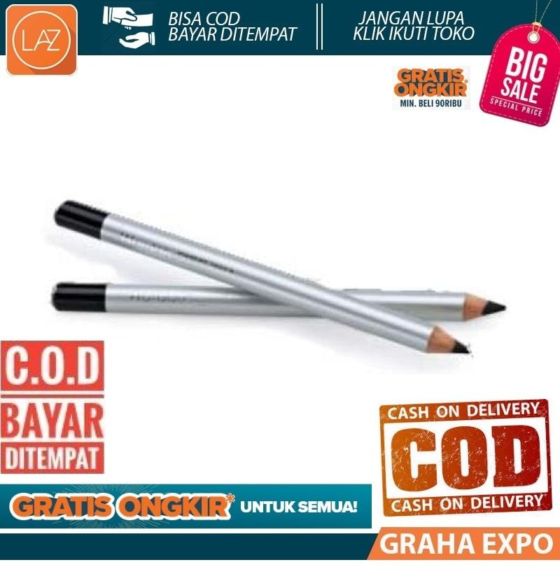 Wardah Eyeliner Pencil Halal Pensil Mata Eye Liner Kosmetik Kecantikan Beauty Warna Hitam Laz COD Graha Expo