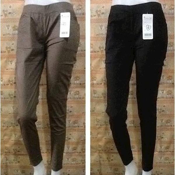Diskon Terlaris Celana Katun Strecth/Celana Pensil/Celana Bahan/Celana Polos Panjang Promo Terbaik
