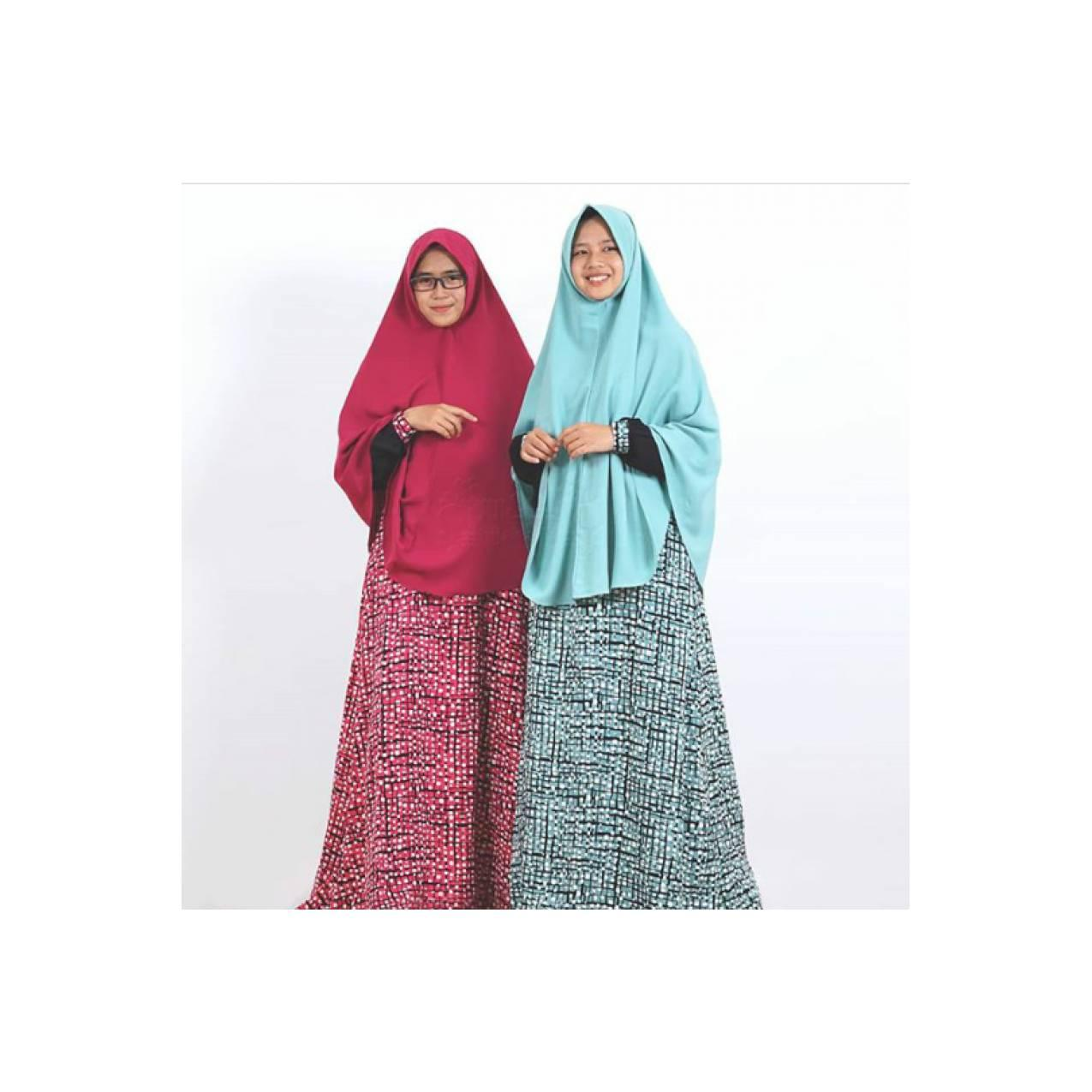 Gamis Sparkle Syar'i Wollycrepe Busui Hijab Alila