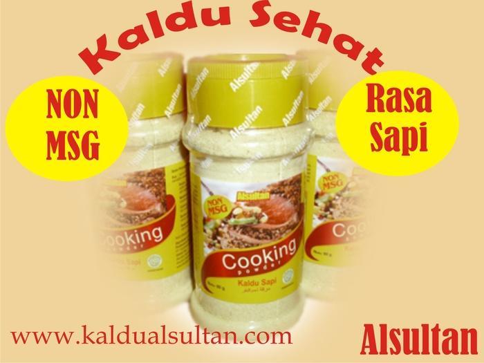 Kaldu Non MSG Al Sultan Rasa Sapi,Kemasan 100 gr - a