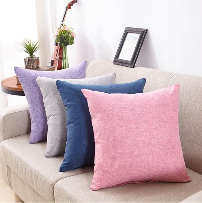 COLORFUL Sarung Bantal Sofa /kursi perlengkapan dekorasi rumah 40x40cm / Aneka Sarung Bantal Sofa Warna Cantik / Sarung Bantal Sofa Cantik Terlaris