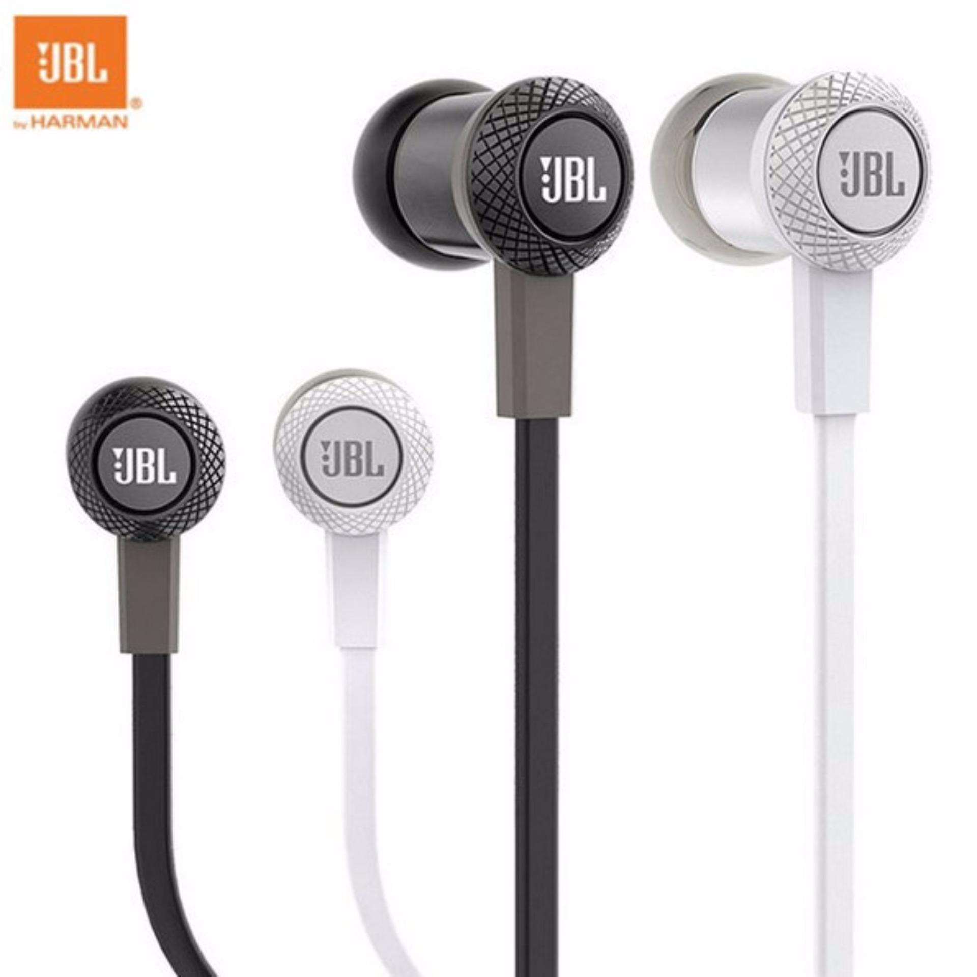 Jbl In Ear Headphonehandsfree Type C100si Original By Harman Hitam T110 Headphone With Pure Bass Microphone And Flat Cable Earphone Garansi Ims Bkn Universal Headset Handsfree Jack 35mm For Xiaomi