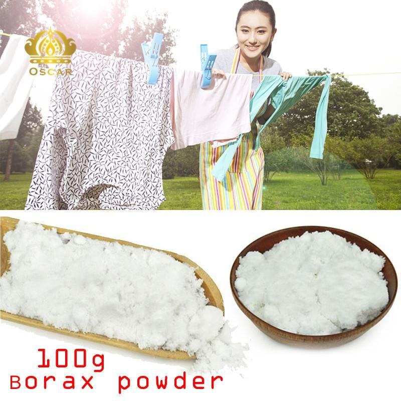 Oscar Store Bubuk Boraks Sodium Tetraborate Anhidrat Borax Laundry Alat Pembersih Rumah Putih-Internasional