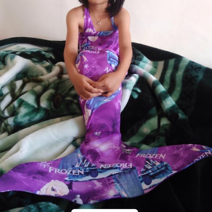 PROMO!!! Baju Mermaid   Putri Duyung   Baju Anak   Baju Renang   Frozen #GWIN - POjEek