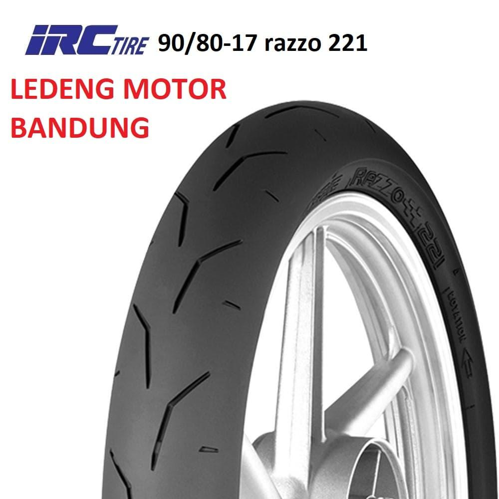 IRC 90/80-17 Razzo 221 Ban Motor Balap Racing Soft Compound NEW