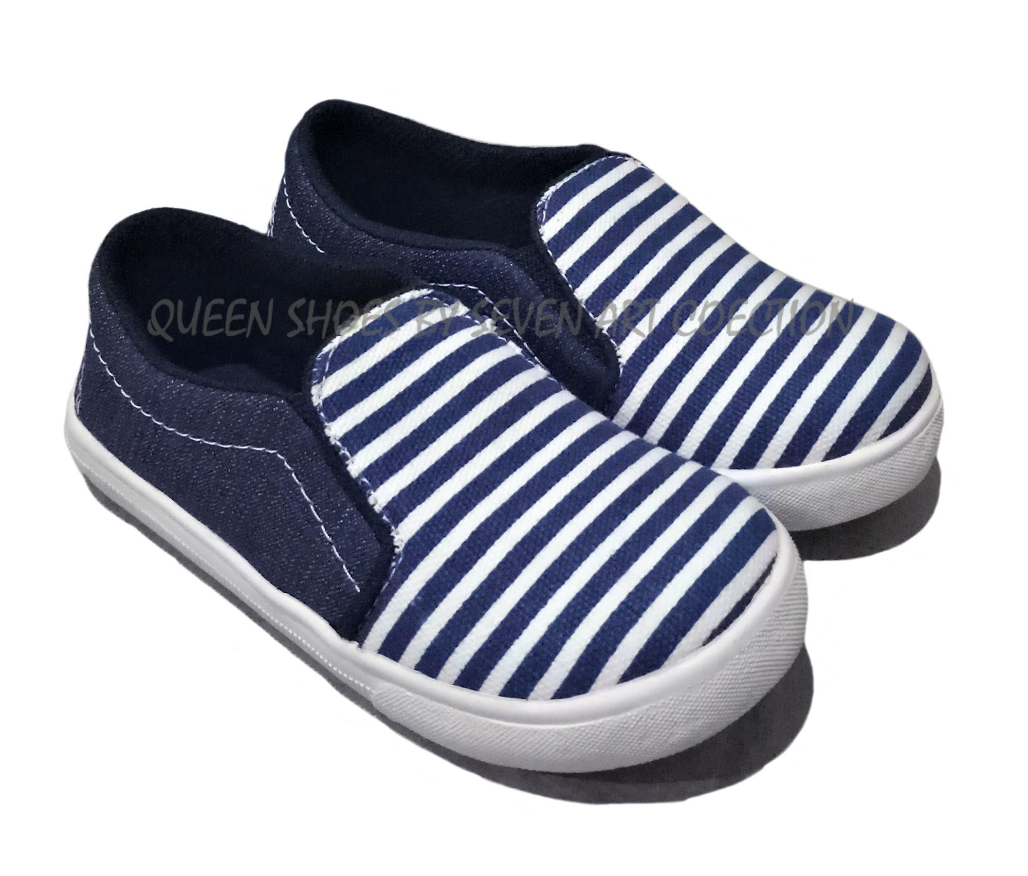 Seven Sepatu Anak Salur Navy-MG