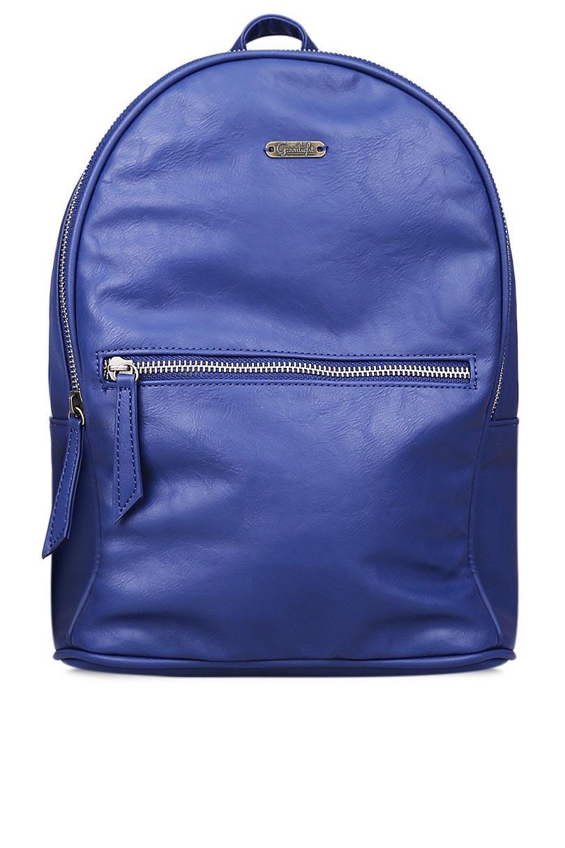 Greenlight Women Bags Backpacks Navy Blue Shoulder Bag