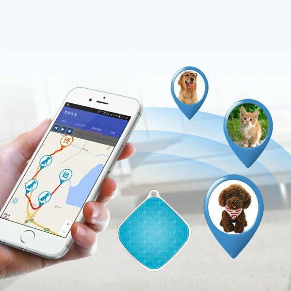 GRESIK PROMO GPS TRACKER MINI SERBAGUNA PORTABLE TANPA INSTALASI KABEL alat pelacak mobil motor NIRKABEL model Gantungan Kunci key chain