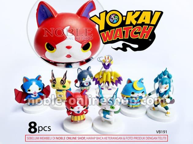 Best Seller!! Yo-Kai Watch Figure Komik Hobi Koleksi Yokai-Youkai-Monster-Toys-Vb191 - ready stock
