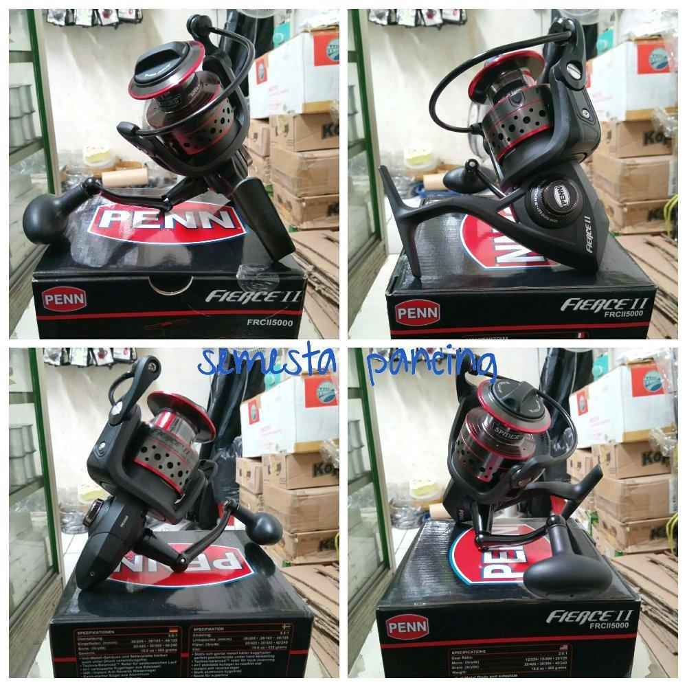 REEL SPINNING PENN FIERCE II FRCII5000 # online fishing shop bundyiroly