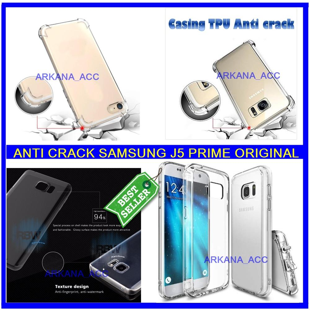 Back Case Soft Jacket / Anti Crack Samsung J5 Prime - Bahan Lebih Bagus arkana_acc
