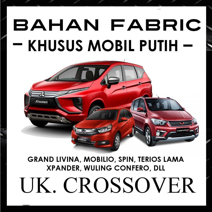 Cover Mobil ANTI LUNTUR Khusus Mobil Putih Grand Livina, Xpander, Freed, Mobilio, Spin, Terios, Wuling Confero / Sarung Khusus Mobil Putih