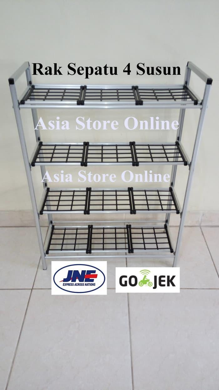 Rak Dinding Dapur Multifungsi Aluminium4 Update Harga Terkini Dan Alumunium Best Seller Sepatu Aluminium 4 Susun Gantung Kayu