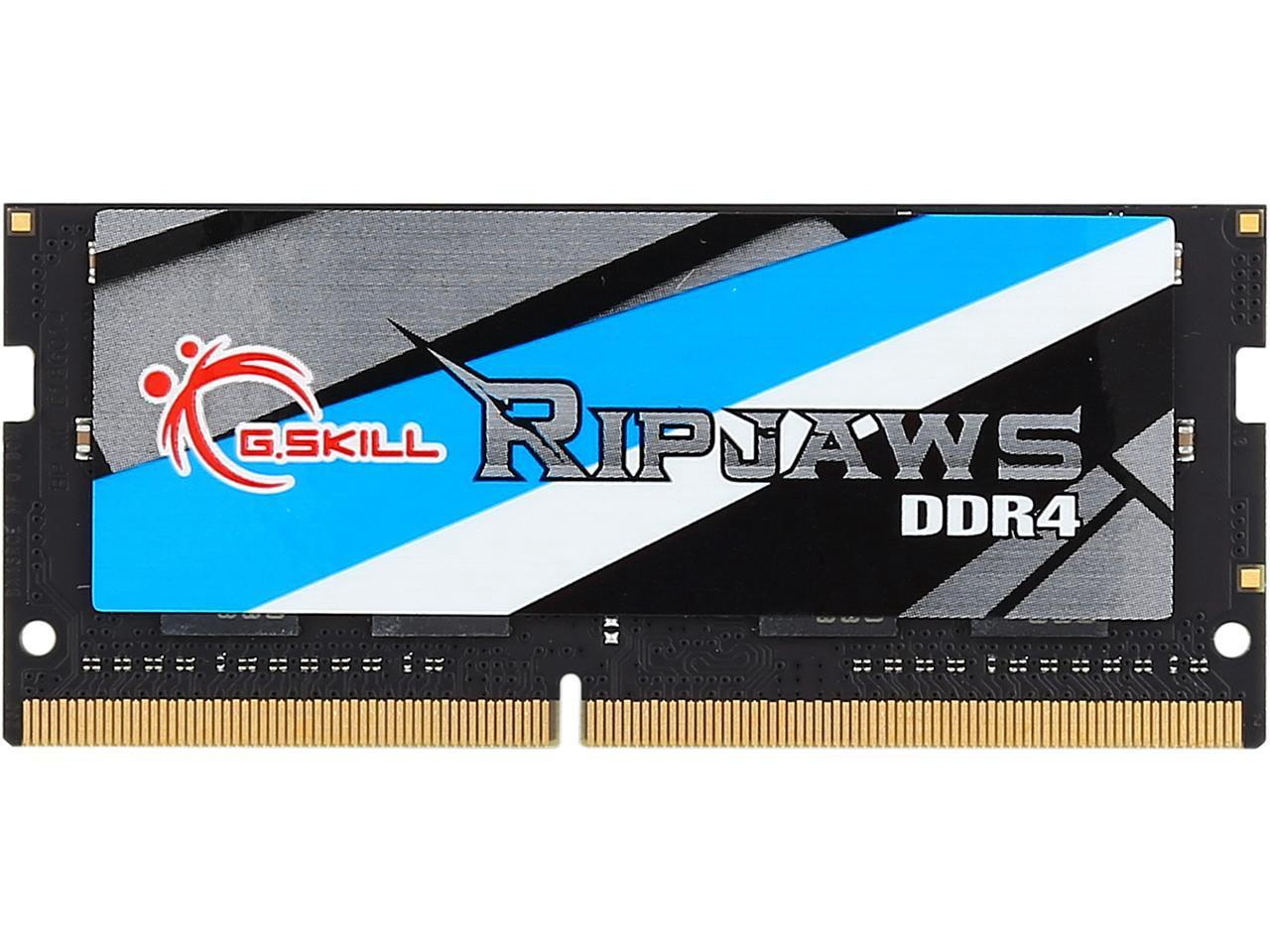 G.Skill Ripjaws Series 8GB (1 x 8GB) DDR4 SODIMM 2400 PC19200 Memory Laptop - Biru