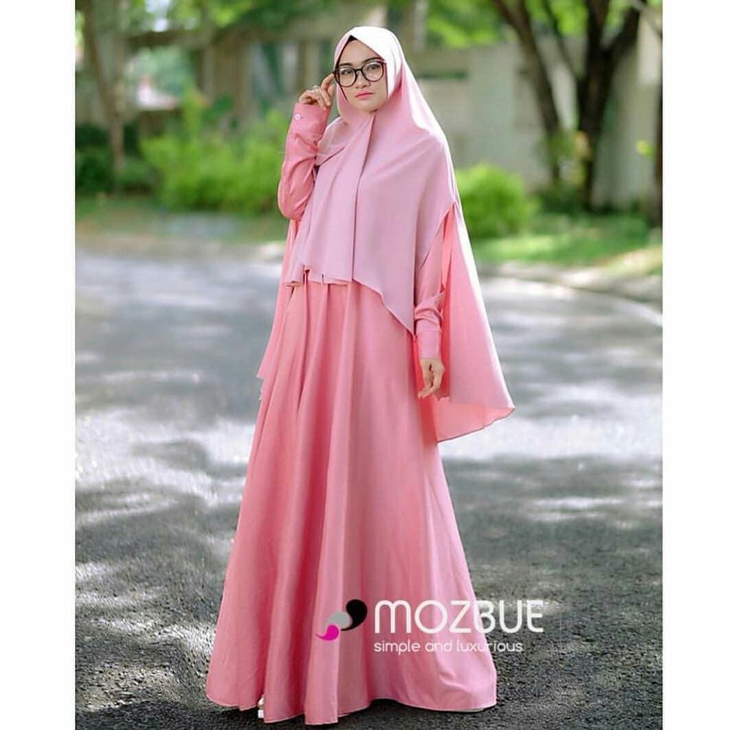 Baju Original Ajwa Syar'i Balotelly  Hijab Casual Pakaian Muslim Wanita Muslim Modern Terbaru Termurah 2018