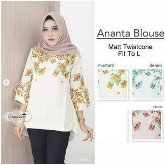 Pencari Harga GKS Fashion Blouse Ananta Varian Warna / Dress Muslimah / Hijab Muslim / Gamis