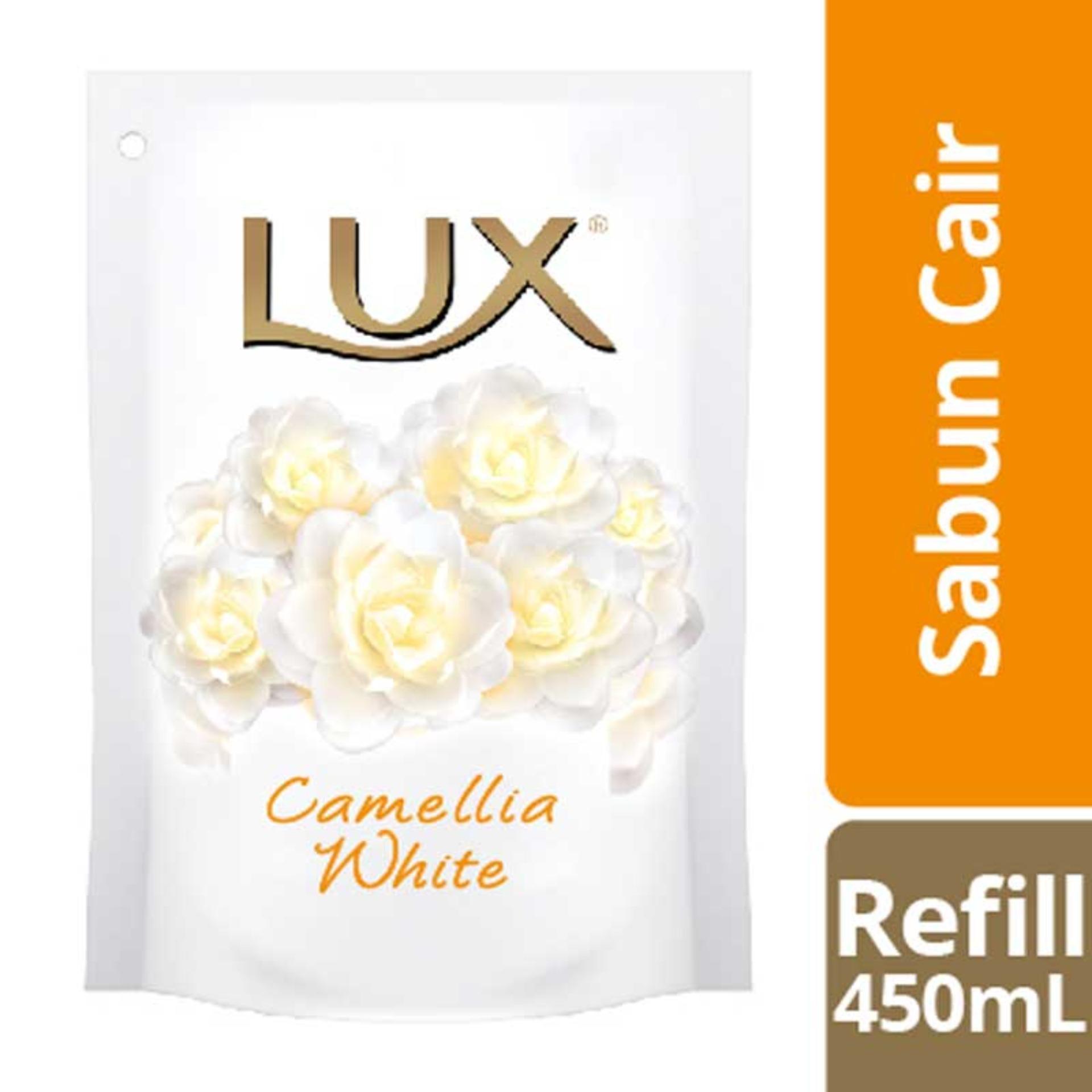 Lux Jual Produk Terbaik Sabun Rose Kecil Herbal Body Wash White Impress Refill 450ml