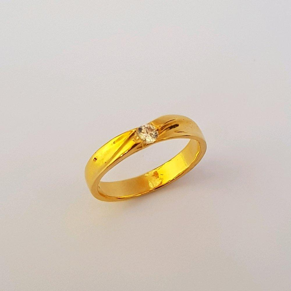 Pilihan Terbaik Cincin Emas Asli Kadar 875 21k Kawin Tunangan