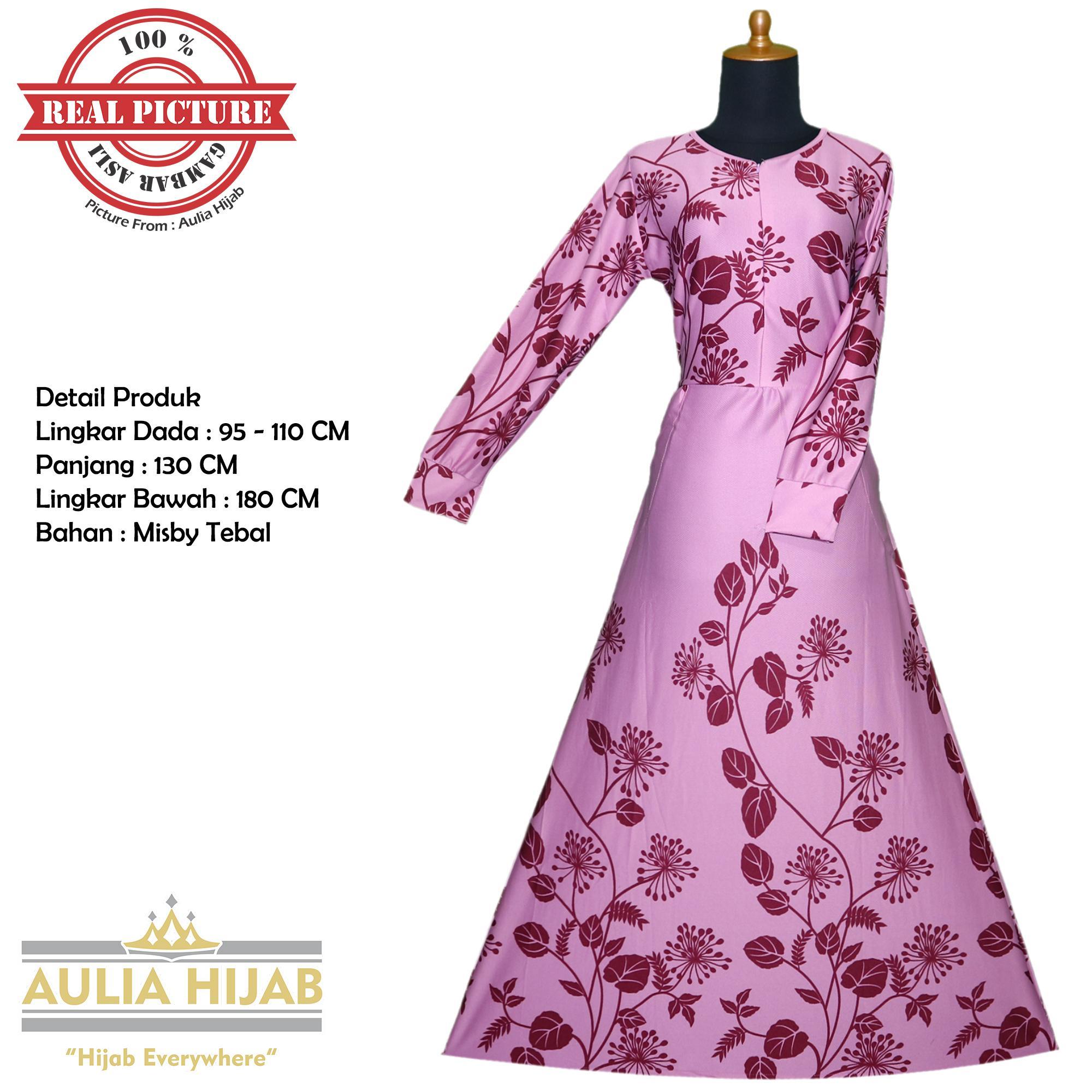 Aulia Hijab - Gamis Sadira Dress Bahan Misby/Gamis Murah/Gamis Terbaru/Gamis Cantik/Gamis Busui/Gamis Pesta/Gamis Santai/Gamis Kerja/Gamis Murah/Gamis Real Picture/Gamis Best Seller