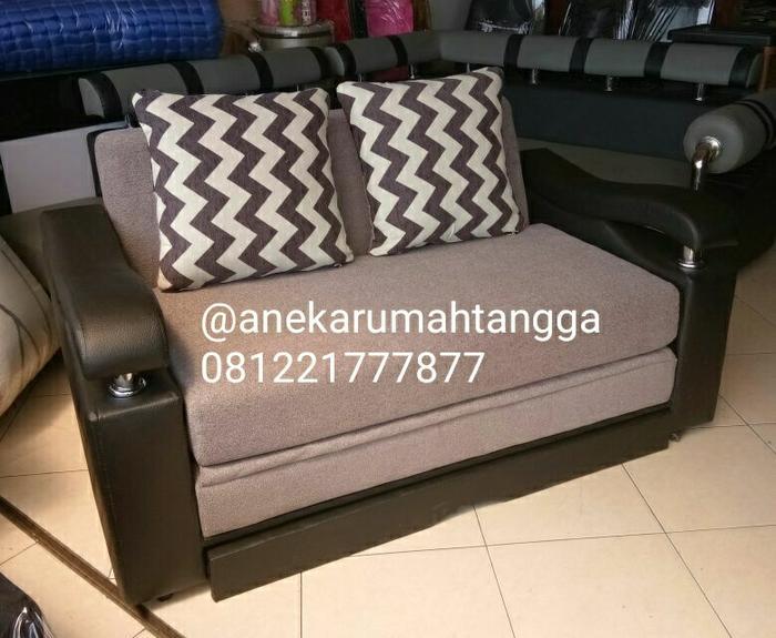 Promo    SOFABED SOFA BED MINIMALIS IKEA RECLINING    Original