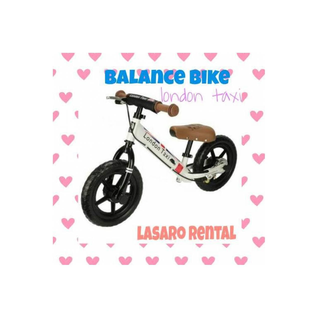 sewa balance bike london taxi