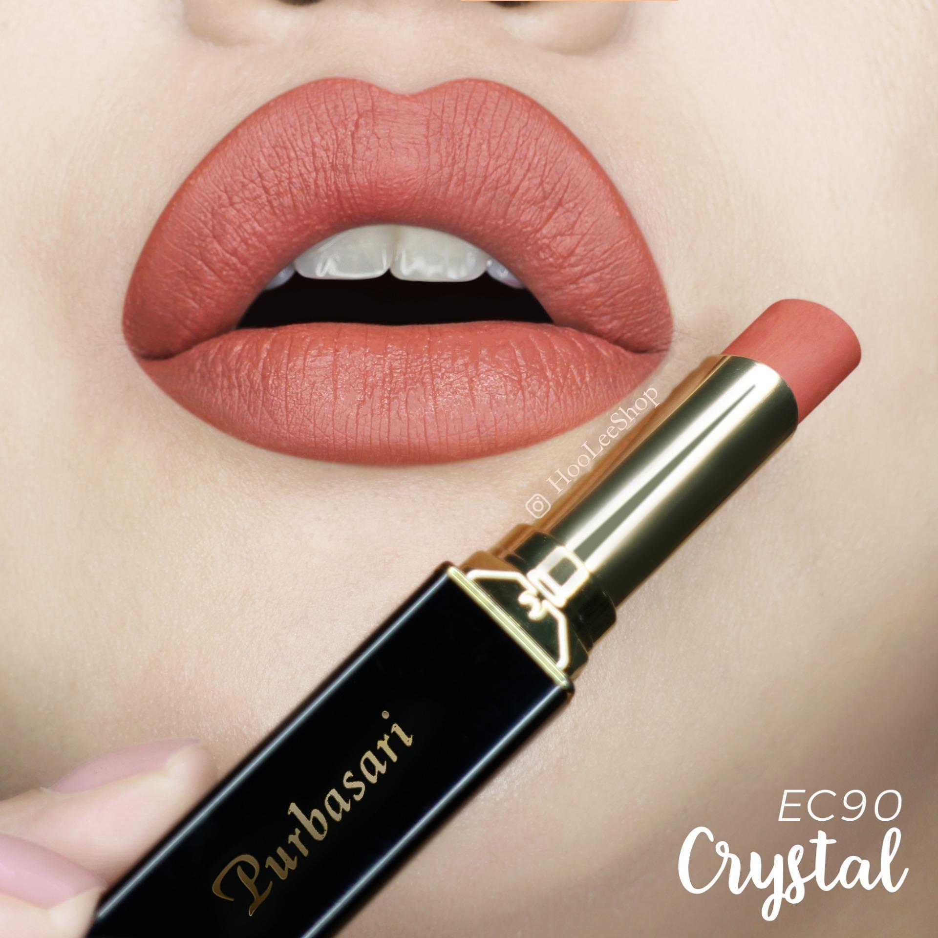 Purbasari Lipstick Collor Matte 90 Natural CRYSTAL