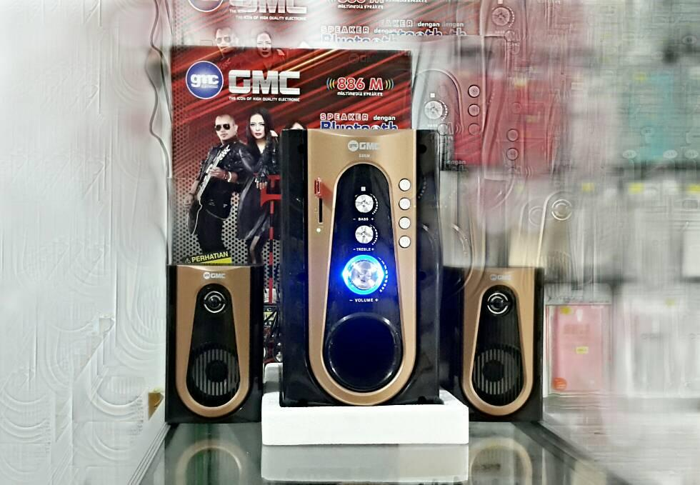 SPEAKER AKTIF GMC 886M BLUETOOTH SUPER WOOFER MEGABASS