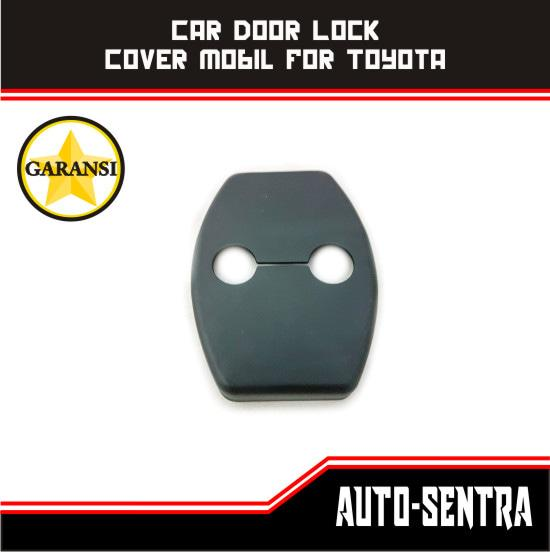 Car Door Lock Cover Mobil For Toyota Avanza Veloz Agya Innova Fortuner