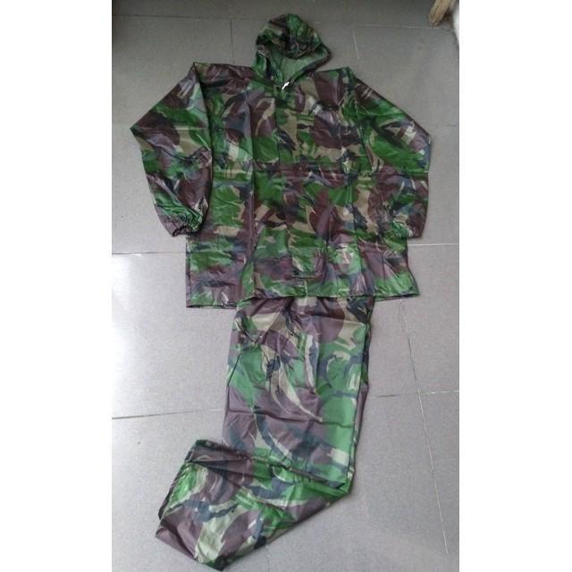 Jas Jaket Jacket Celana Army Hujan Setelan Tentara Loreng Coker Motor - Rr2sn5