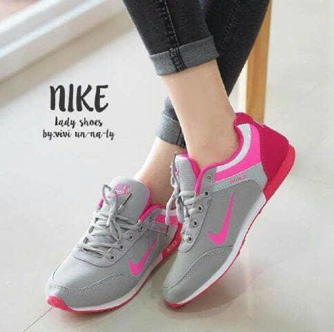 SEPATU KETS RD68-NS12 / SNEAKERS NIKE / HITAM, NAVI, ABU FANTA READY / sepatu wanita / sepatu flat / slip on / high heels impor / sepatu sneakers / sandal keren / sandal flat / sepatu wanita / sandal wanita / sepatu sandal / sepatu