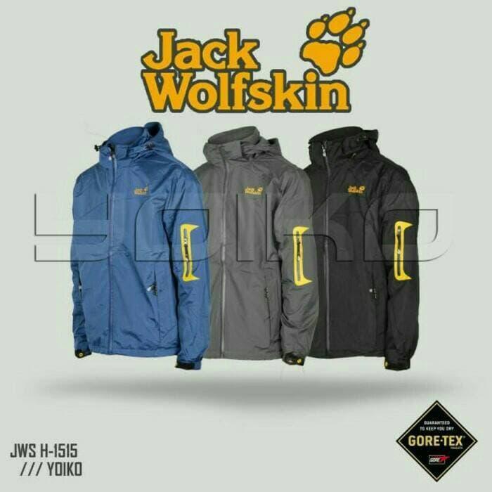 PROMO!!! Jaket Gunung / Outdoor Jack Wolfskin 1515 Bolak Balik Polar - rhi3hI