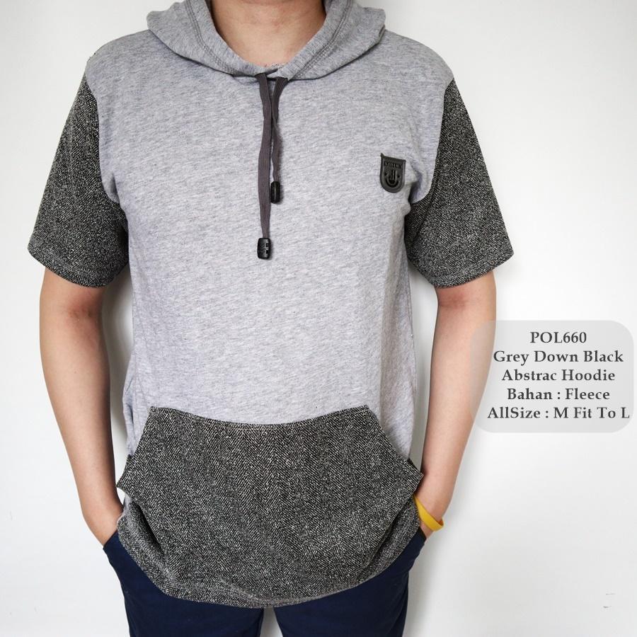 GFS 660 Polo Hoodie Pria / Kaos Polo Shirt Hoodie Pria / Kaos Fashion Cowok /