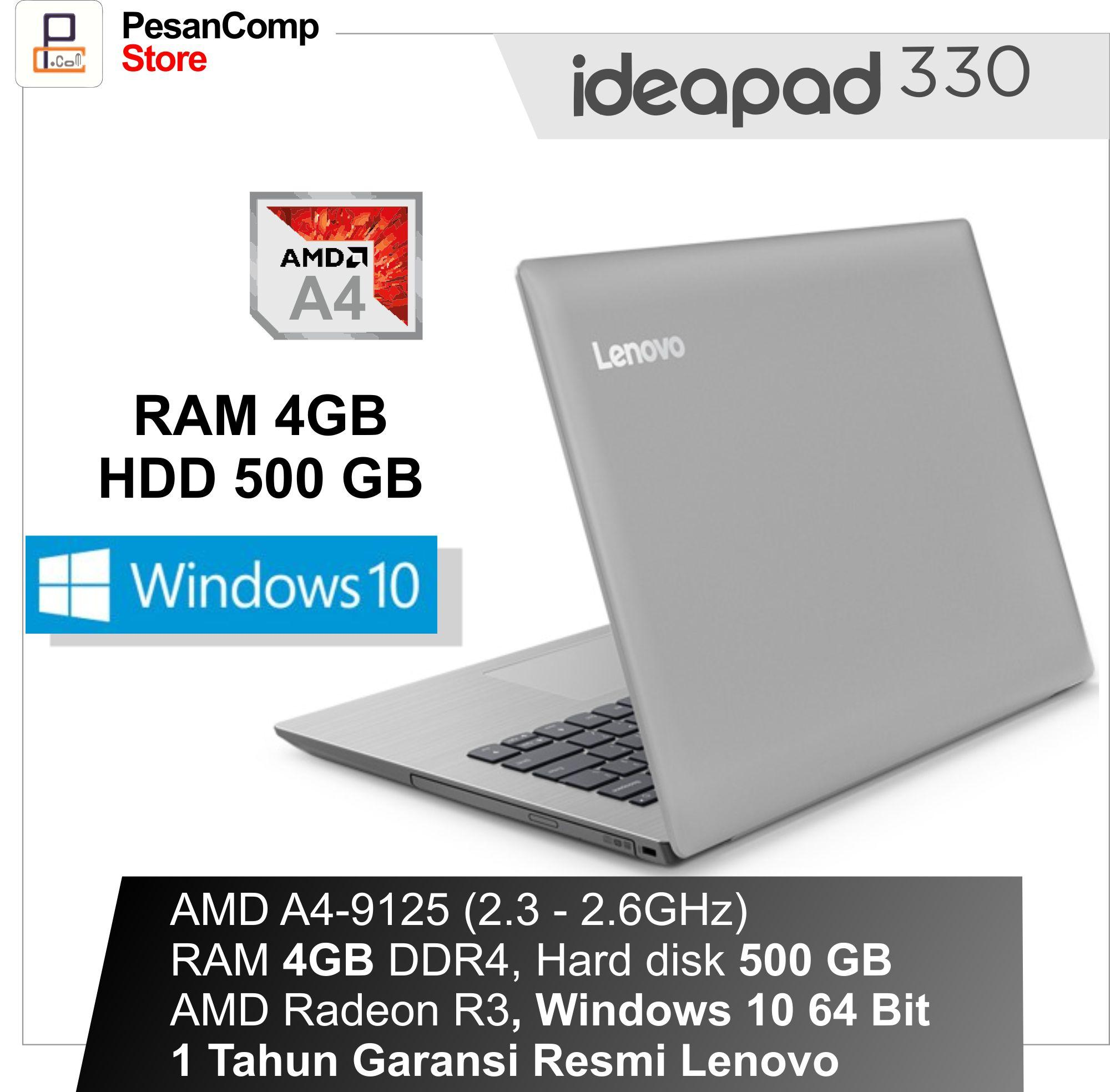 Lenovo IdeaPad IP 330 14AST AMD A4 9125 WINDOWS 10 AMD Radeon