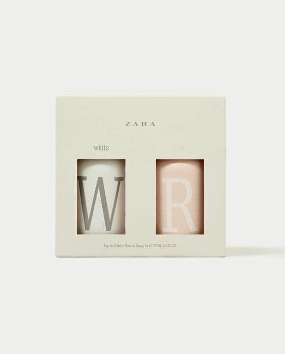 Original Parfum Zara White and Rose Isi 2pcs