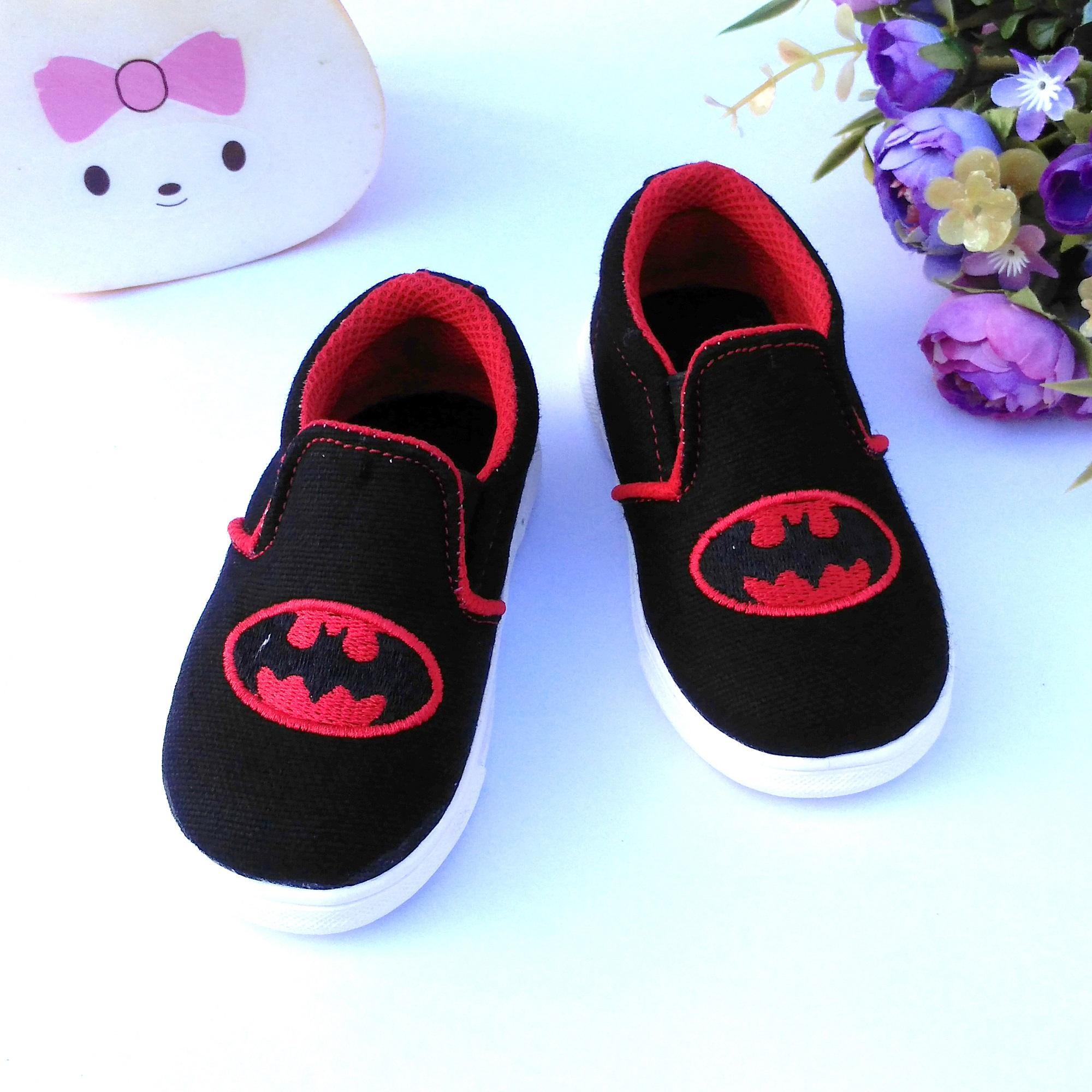 HQo Sepatu Anak Perempuan Slip On   Sepatu Anak Laki -Laki Casual   Sepatu  Bayi ecb88cf363